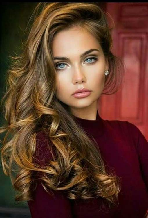Amazing hairstyle for girls.