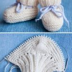 Baby booties Ugg – Free Pattern