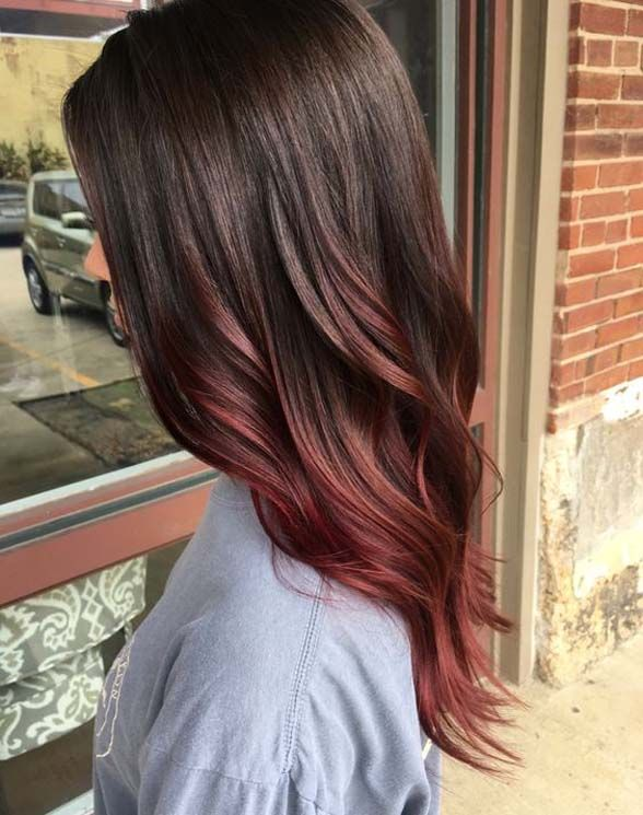 Balayage is a current trend of hair that is seen, Balayage hair color is a French technique.