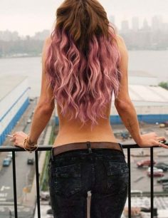 Beautiful ideas to dye your hair intense pink to make you look awesome.