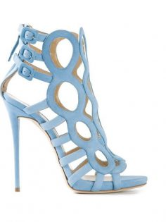 Buy Giuseppe Zanotti Design Light blue sandal …