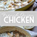 CHICKEN FRENCH ONION