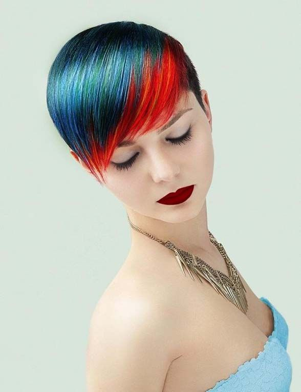 Colorful hair inspiration
