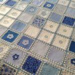 Crochet Fabric Quilt