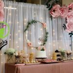 Dessert table baby shower | Catalina's birthday in 2