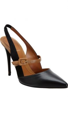Fendi Slingback Mary Jane pumps black fall tobacco …