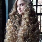 Long hair style for girls