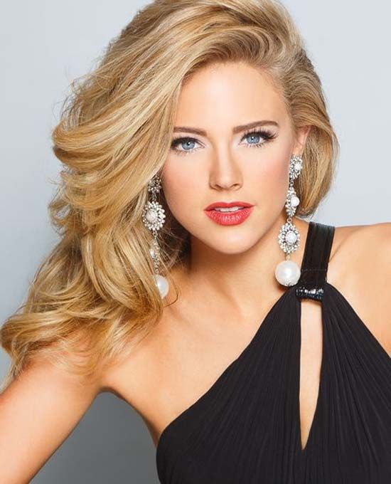 Miss Georgia hair style and makeup