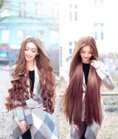 Motivation of long hair for girls.