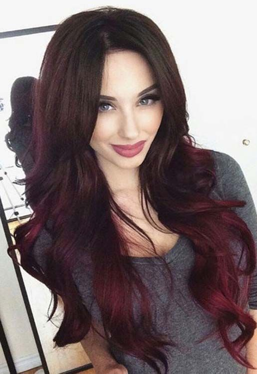 Ombre Styles great for darker Ombre hair