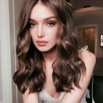 Romantic hair style for girls 2018