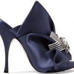 Sandals No. 21 Satin Bow Mule