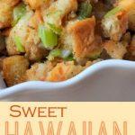 Simple stuffed Hawaiian sweet bread