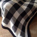 Tartan crochet blanket. I love the gingham look
