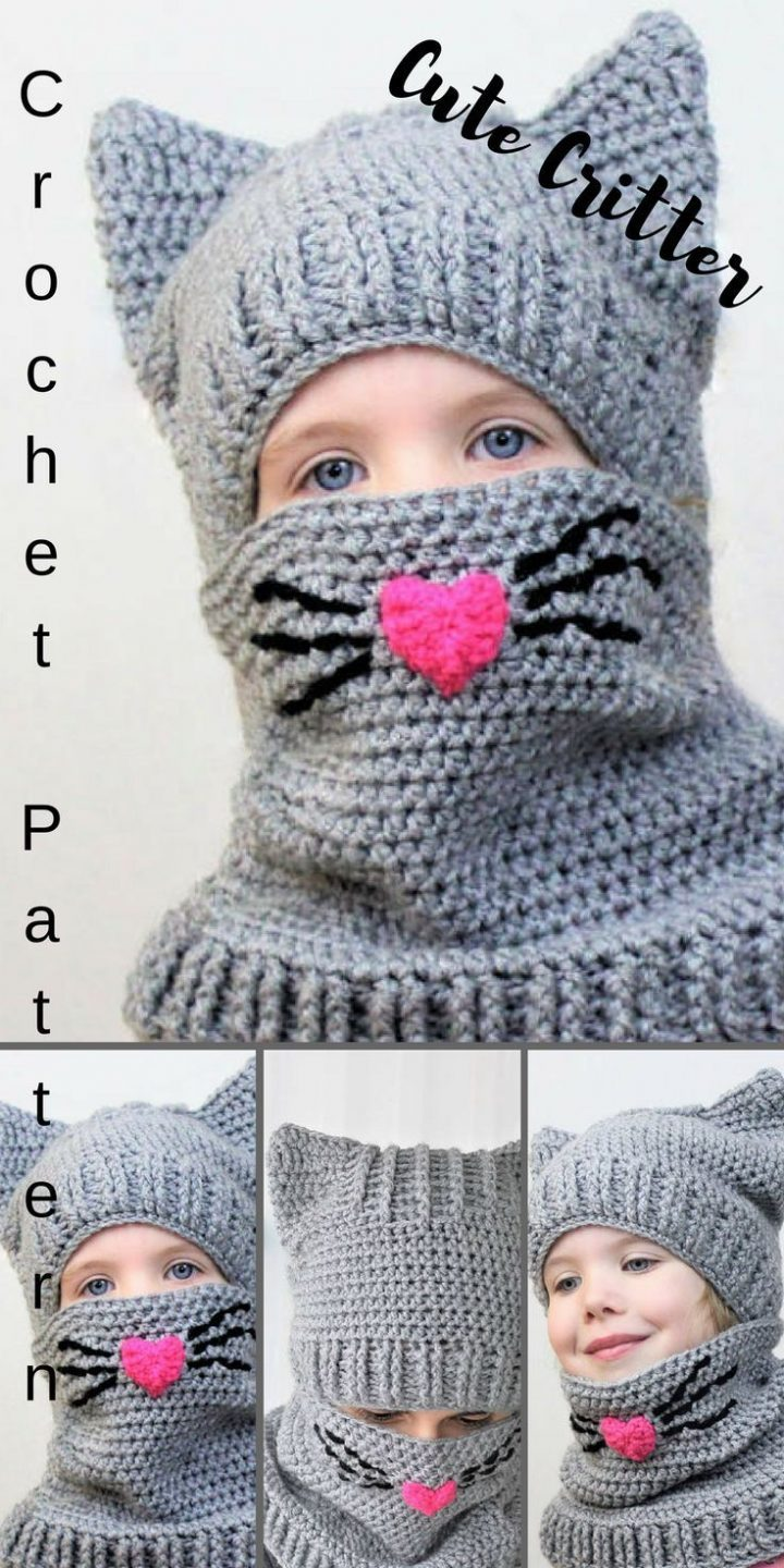 "What a lovely ""Critter"" little hat / hood for you"