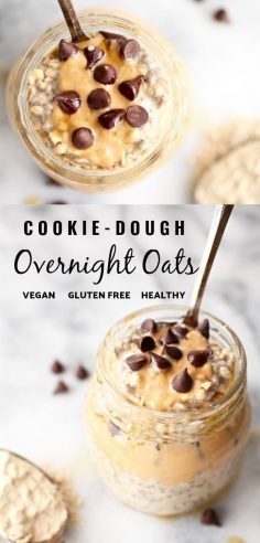 Vegan cookie dough night oat (Protein packaging) | Recipes