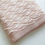 60 knit and video baby blanket model | Knitting Patterns