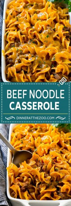 Beef noodle casserole recipe | Ground Beef Casserole | Meat and Egg Noodles | Recipes