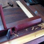 Configuration and use of a shooting board   WoodWorking