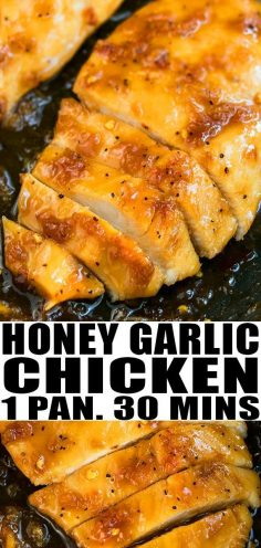 RECIPE OF HONEY GARLIC CHICKEN: quick, easy, healthy | Recipes