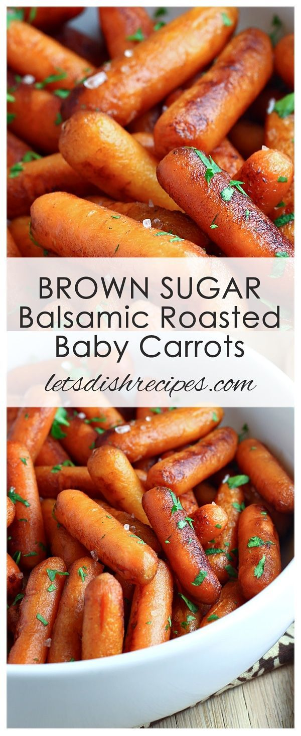 Recipe of brown sugar balsamic roasted carrots | Recipes