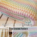 Adorable Starlight blanket for baby, seamless pattern | Knitting Patterns