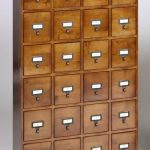 Leslie Dame CD-288W Library Style CD Cabinet   WoodWorking