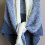 Free shawl knitting pattern for beginners | Knitting Patterns