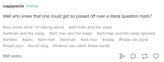 """ANT-MAN AND THE WASP"" THAT ARE A REAL MOOD 