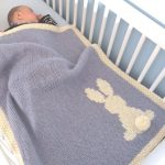 Baby Blanket Pattern, Tutorial, Bunny Blanket Tuto | Knitting Patterns