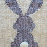 Bunny baby blanket, rabbit blanket, baby pattern, 2 SIZES, rabbit blanket, beginner | Knitting Patterns