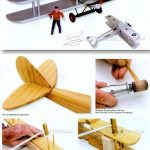Biplane model plans – Wooden toy plan for children | Wood Working