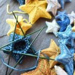 point ☆ knit star wool wool star confection diy | Knitting Patterns