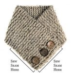 Super easy, knitting scarf pattern for beginners | Knitting Patterns