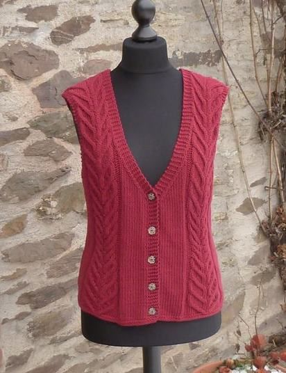 ladies-i-who-knit vests | Knitting Patterns - Womens Style