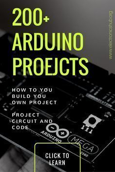 LIST OF MORE THAN 200 ARDUINO PROJECTS FOR SENIORS | Diy and Crafts