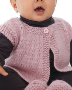 Free knitting pattern: baby clothes children models
