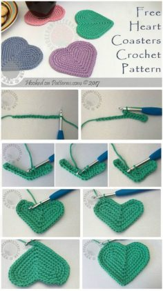 CROCHET COASTERS – 70 FREE PATTERNS FOR BEGINNERS | Diy and Crafts