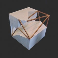 The parametric design is difficult but very rewarding when it is complete. #Architecture #sunyorangearchitecture #parametricdesign #cube #tetrahedron #Design