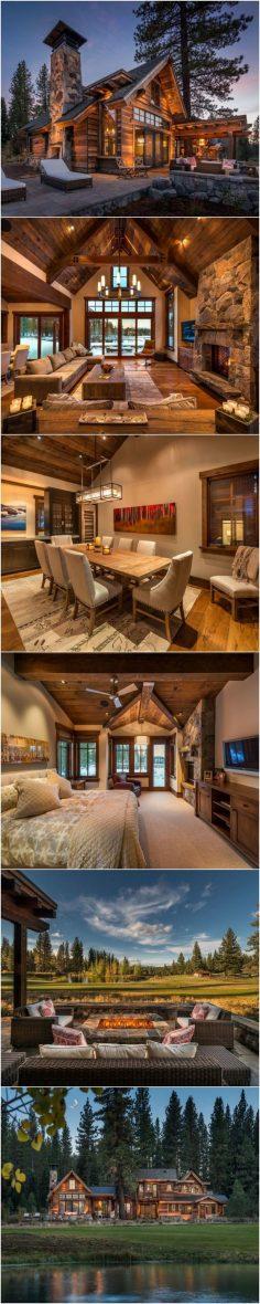 50+ best cabin style design ideas | Architectures