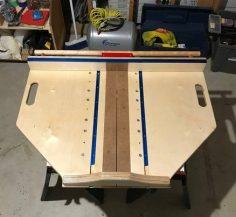 Crosscut sledge | WoodWorking