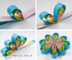PAPER FLOWER BY CHRISTINA.BENSON | Diy and Crafts