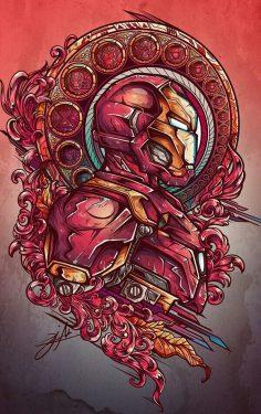 #IRONMAN #MARVEL #ARTE   Marvel Comics
