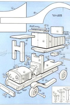12 Wooden toy plans Design No. 13572 Small | WoodWorking