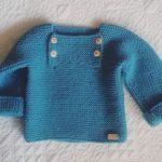 Free knitting pattern for Easy Garter Stitch Baby | Knitting Patterns