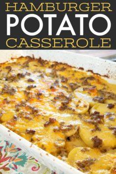 Hamburger Potato Casserole | New Recipes