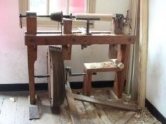 Treadle Lathe Designs | The Renaissance carpenter | WoodWorking
