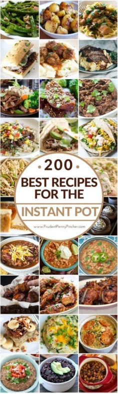 200 best recipes of instant pot | New Recipes