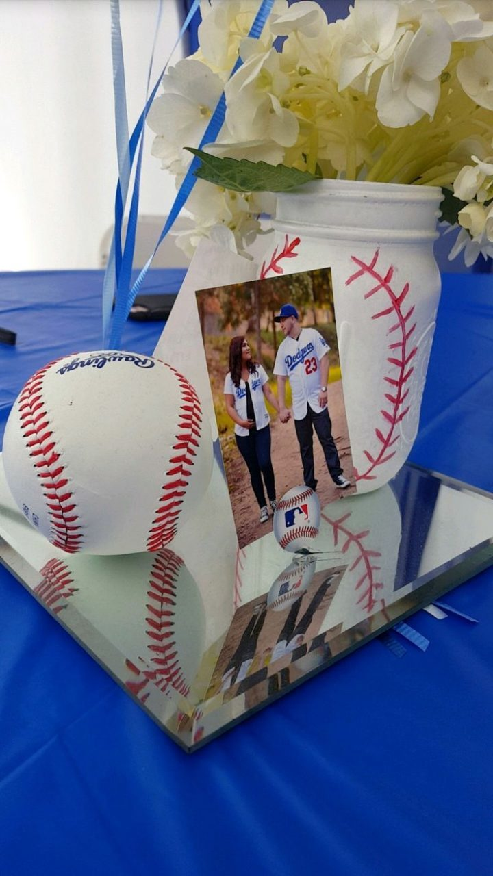 Baseball Baby Shower Centerpieces | Baby Showers