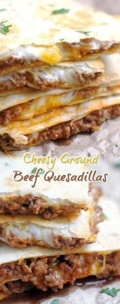 Cheese Quesadillas with Cheese | New Recipes